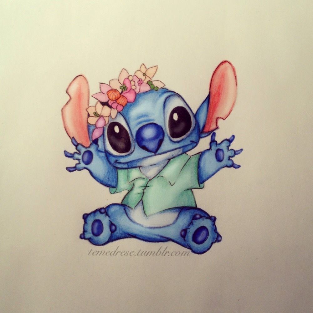 The Gallery For Lilo And Stitch Tumblr Drawing