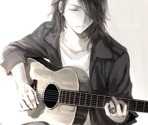 Anime Guitar Boy Pictures, Images & Photos | Photobucket