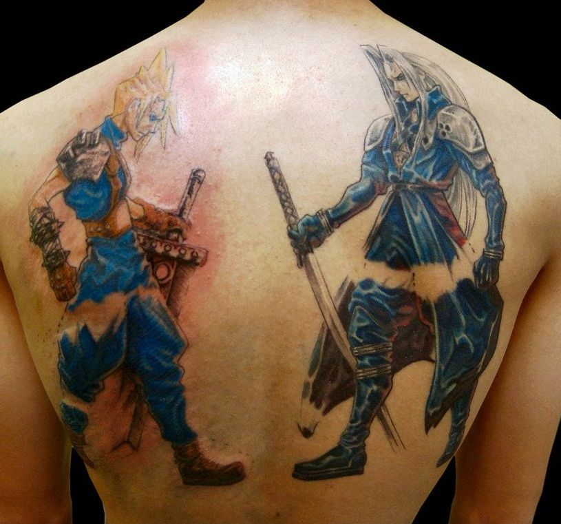 final fantasy and tattoos