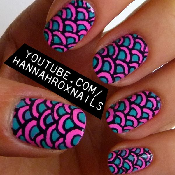 Nail art via facebook image 1193279 by nastty on Fashion style and nails facebook