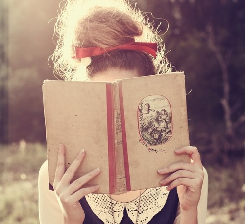 red, photography, vintage, cute, ribbon, book, swag, bow, girly, hipster, sweet, indie, bun, pretty, girl
