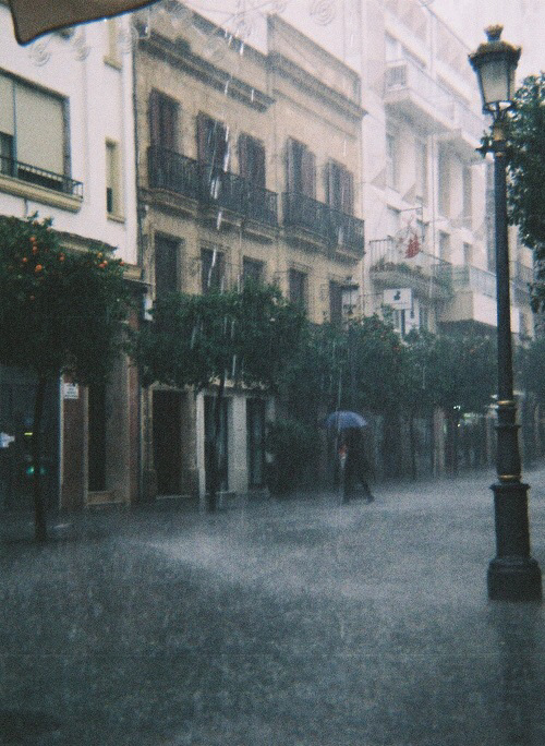 building, cold, love and rain