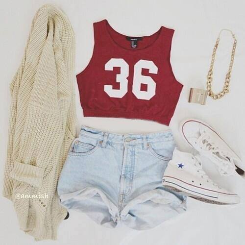 fashion, cute, girl, cardigan, swag, converse, outfit, white, style, shorts