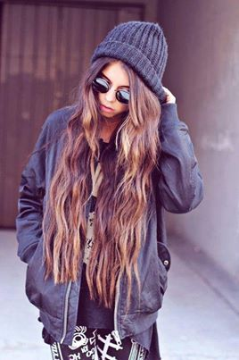 girl, hair, beautiful, brunette, swag