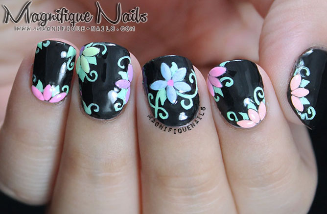 Nail art on black woman summer funky nail arts designs for girls nail art for black women view images nails flowers girl prinsesfo Images