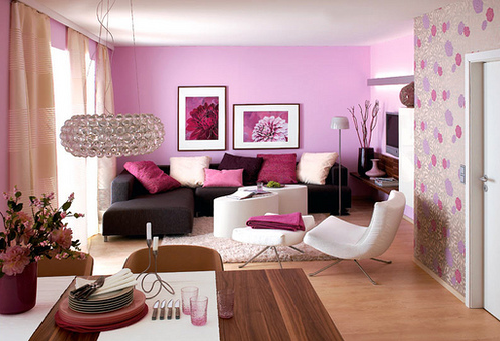 Pink Sofas An Unexpected Touch Of Color In The Living Room ...