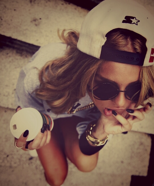 nails, swag, cool, fashion, style, sexy, girl, sunglasses