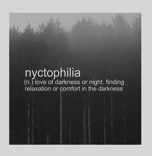 Dark Darkness Night Quotes Nyctophilia Image 3440859 By