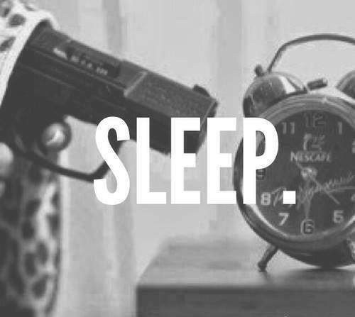 sleep, night, bed