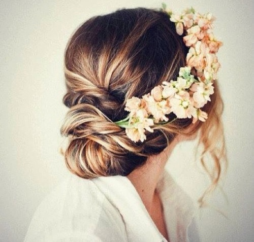 Blond Blumen Flowers Girl Hair Image 3551473 By Loren
