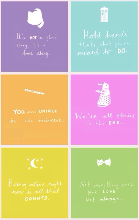 doctor who has the best quotes - image #1246301 by ...