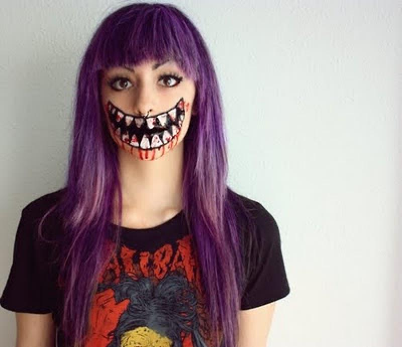 halloween makeup mouth - photo #26