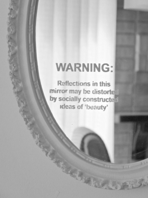 distorted social mirrors