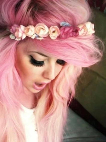 pink, gorgeous, hair