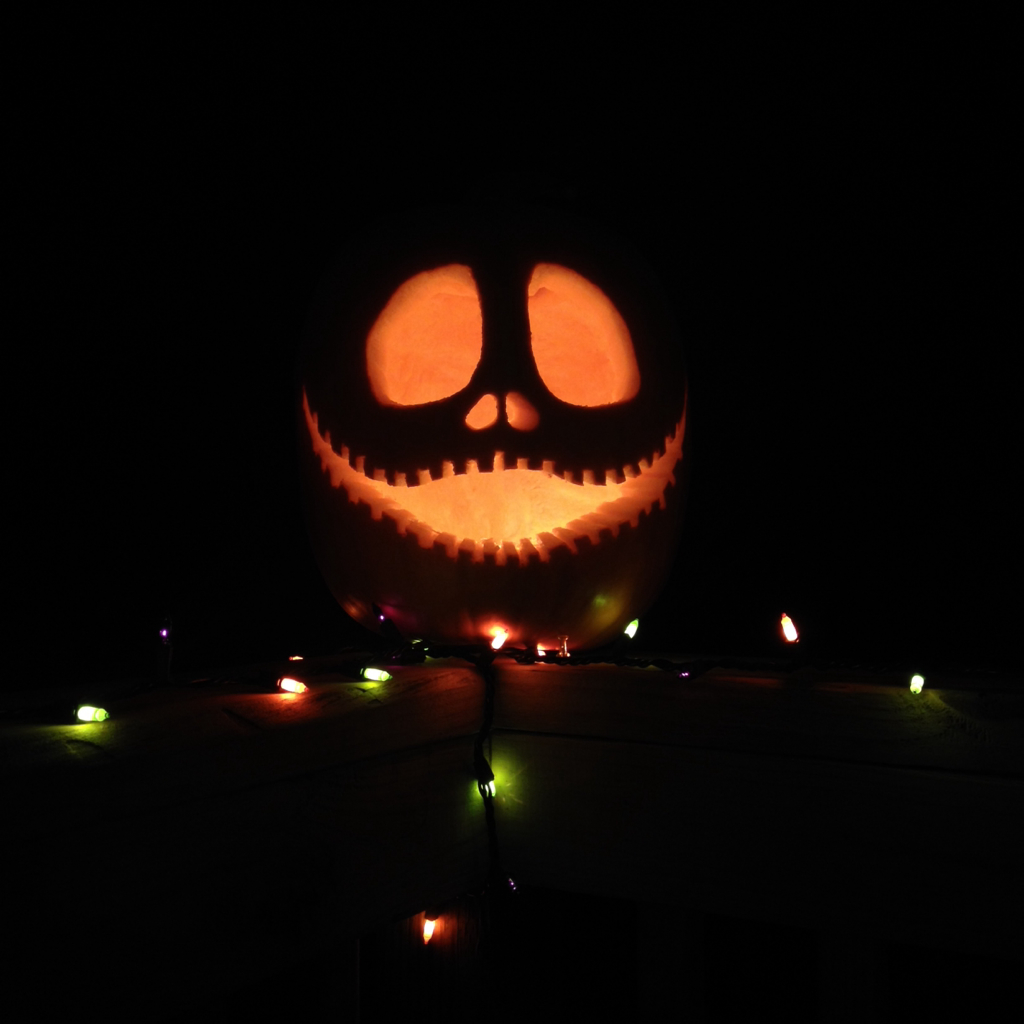 halloween!, my pumpkin, jack the pumpkin king and carved it!