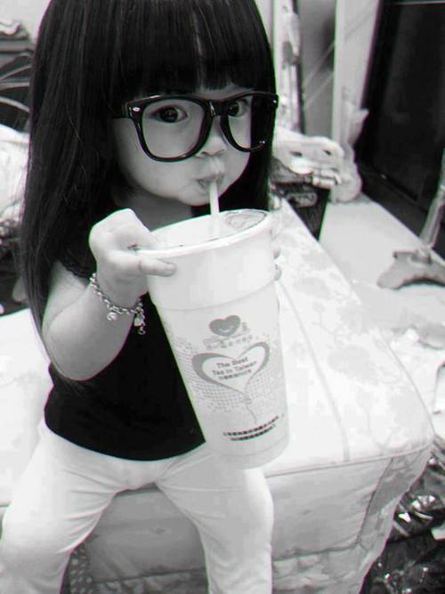 she is so so cute diva, cute, swag, aww, black and white, little baby