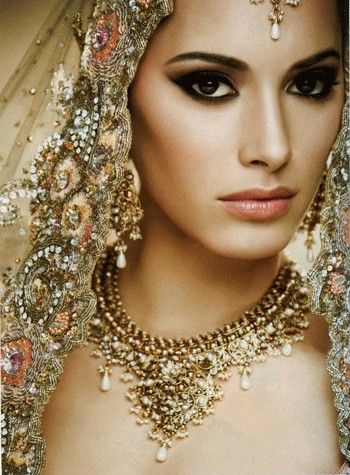 Indian Bridal Makeup Gorgeous #desibride ?Desi - image ...