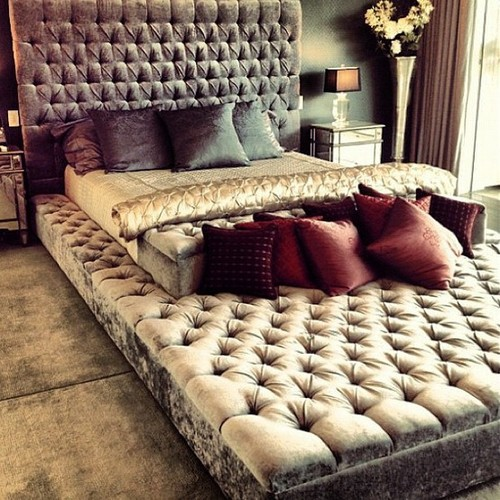 bed, bedroom, girly, interior, love, perfect