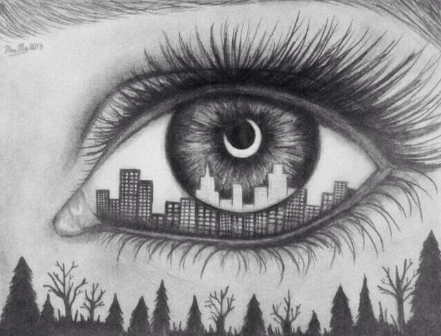 drawings  photography  tumblr photos  cool artCool Black And White Drawings Of Eyes