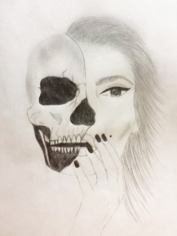 Two faced beauty image 1301662 by awesomeguy on for Beautiful creative art
