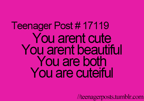 Beautiful Teenage Love Quotes : Teenager Post Love Quotes. QuotesGram