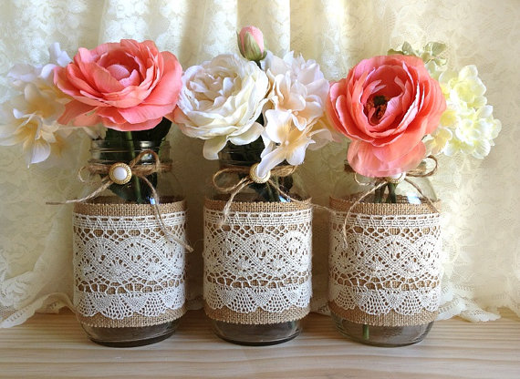 bridal shower, burlap, country chic and cute