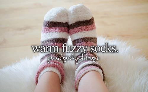 autumn, cute, fuzzy, socks, warm, winter