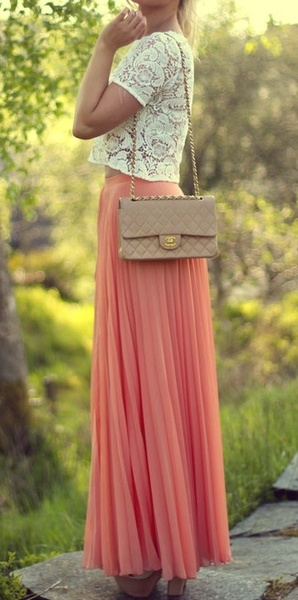 Maxi Skirts Outfit for Teen Girls