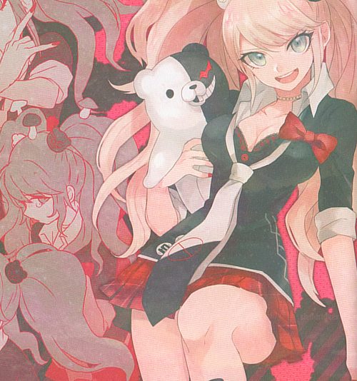 anime girl, spoilers, dangan ronpa and danganronpa
