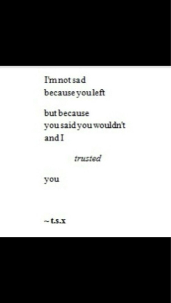 you left and i trusted you - image #1907609 by taraa on