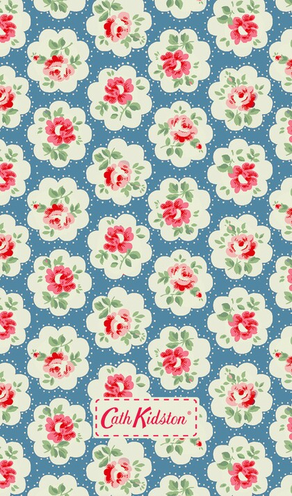 background, blue, cath kidston and floral