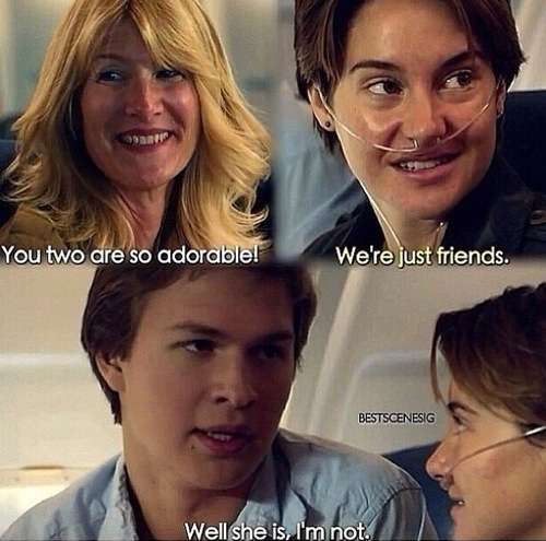 Pin Okay The Fault In Our Stars Augustus Waters on Pinterest