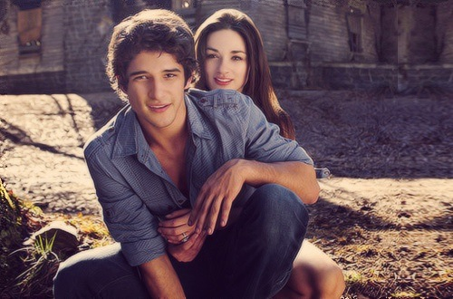 couple, Crystal Reed, savon, romantisme, Scott Mccall ...