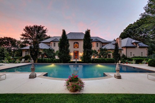 big, house, luxury and mansion