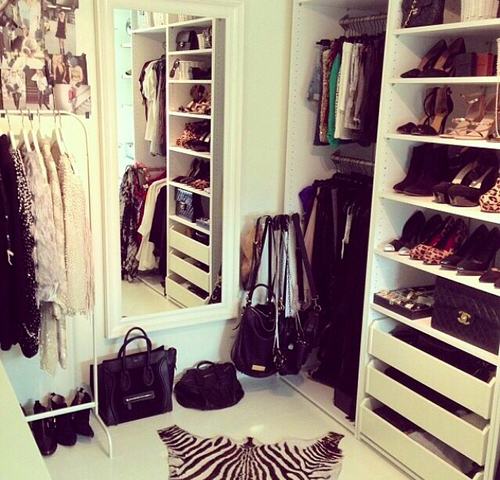 Every girls dream image 2115939 by saaabrina on for Fancy walk in closet