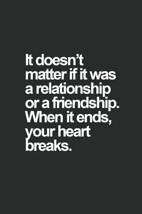 Marvelous Sad Quotes About Breaking Up Friendship Pictures