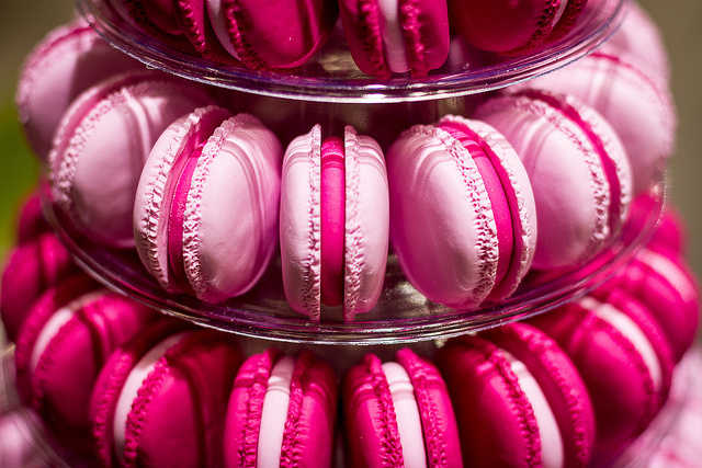 french, girly, macaroon and paris