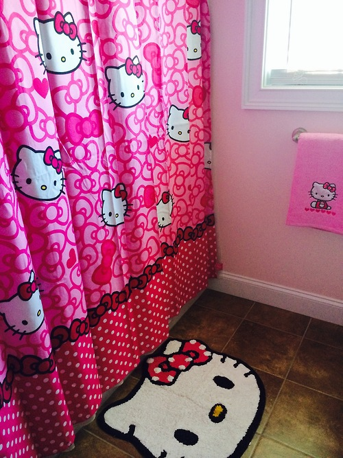 Hello Kitty Bathroom Decor Ideas : Hello kitty bathroom decor gardenia